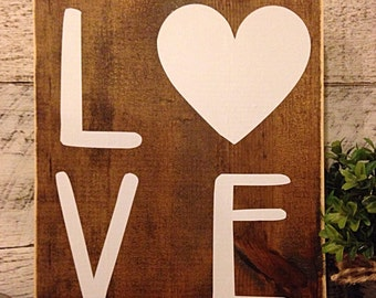 Love sign | wedding decor | wedding sign | wedding gift | nursery decor