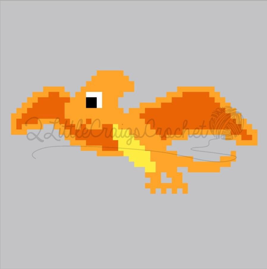 Instant Download Pterodactyl Dinosaur Baby Blanket