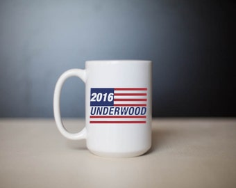 House of Cards Underwood 2016 Mug