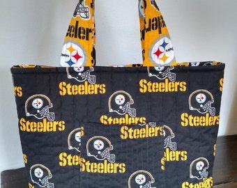 Black Pittsburgh Steelers Purse