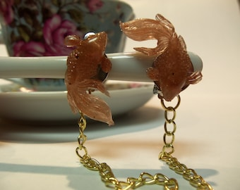Coy Fish Collar Clips