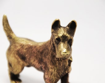 Scottish Terrier, Aberdeen Terrier, Scottish Dog, Scottish Dog figure, Scottish gift, Terrier Dog