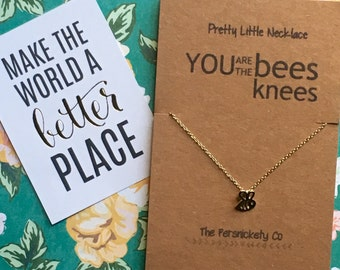 Pretty Little Necklace - You Are The Bees Knees