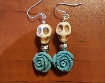 Day of the Dead ~ Skull Earrings