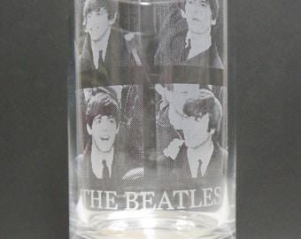 The Beatles Phto Glass