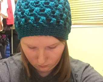 Teal Bubble Hat