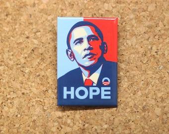"""2"""" x 3"""" Barack Obama Hope Magnet"""