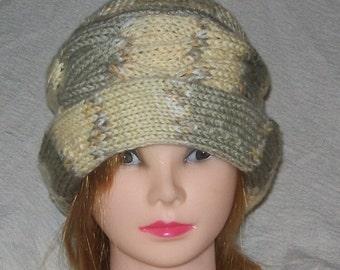 Knit Irish Hat - Hand knit