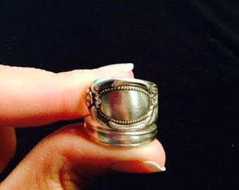 Silver Fork Ring
