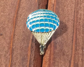 Blue Skydiver Pin