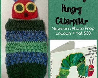 The Very Hungry Caterpillar Photo Prop