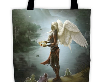 Fantasy Tote, Artwork from Neverqueen Book 1