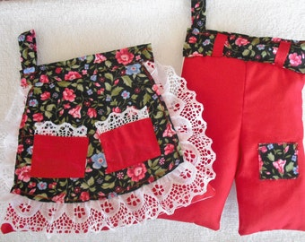 Skirt and Pants Pot Holder Set