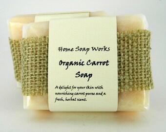 Organic Carrot Soap