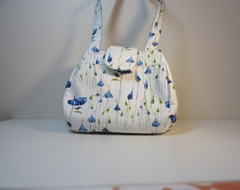 Knitting or Crochet Project Bag or Purse