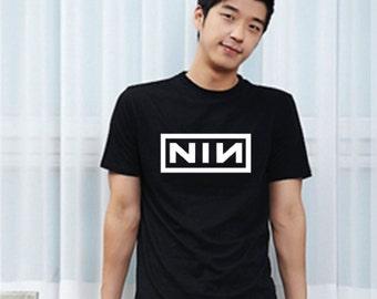 NIN Nine Inches Nails  retro entertainment  Top Dawg swag tshirt