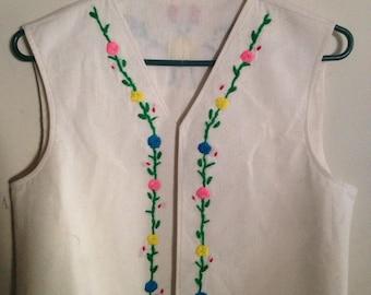Vintage handmade vest