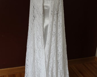 Galadriel Dress & Lace Cape