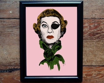 Bette Davis -The Anniversary Print
