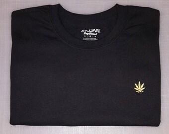 Weed Gold Logo Shirt
