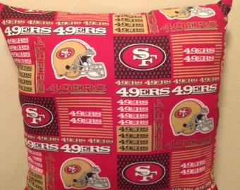 San Francisco 49ers Pillow