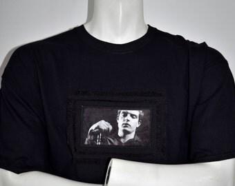 Ian Curtis Joy Division custom made t-shirt