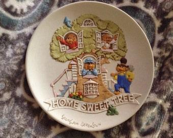 Vintage Berenstain Bears Collector Plate