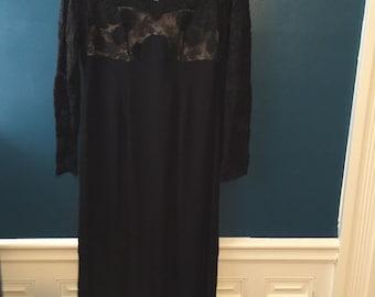 Exceptional 1950s coctail dress from Filene's Paris Shop