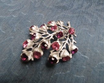 Fabulous Signed Sarah Coventry 1960's  Pin/Brooch