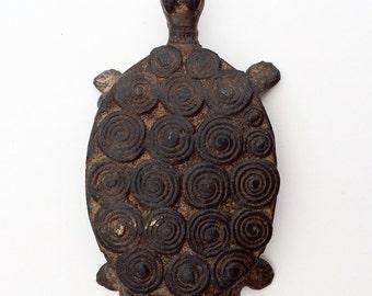 Baule Iron Goldweight. African tribal art