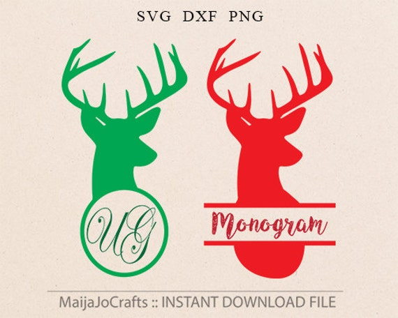Download Deer SVG Christmas Svg File Cricut downloads Cutting File