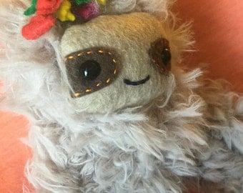 Baby Girl Sloth Plush