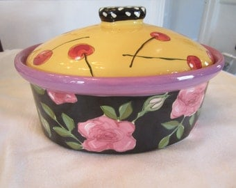 Sale!  Droll Design Lidded Casserole