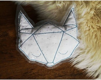 Nightlight origami Wolf head