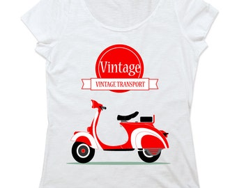 Cotton Slub t-shirt VINTAGE TRANSPORT