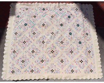 M4041  Vintage Postage Stamp Quilt dated 1936