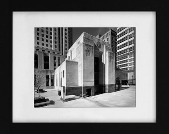 Chicago Daily News Building Detail Fine Art Print