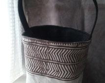 Sage Linen Foraging Bag