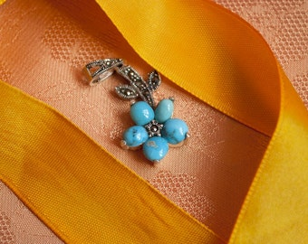 Free Gift With Purchase: Luxurious Turquoise Pendant
