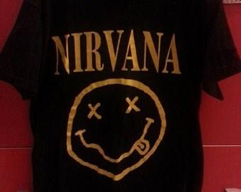 Nirvana-Band unisex tshirt, size S