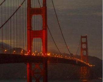 San Francisco Golden Gate Bridge Dusk 4