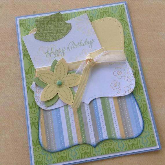 Unique Birthday Card Gift Card Holder Option