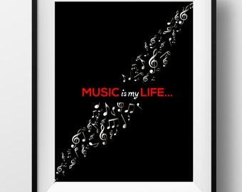 Unique Gift For Music Lover Related Items Etsy