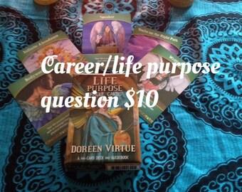Career/ Life purpose reading