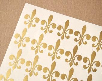 Fleur de Lis Vinyl Decals - Fleur de Lis Stickers - Vinyl Fleur de Lis Decals - Fleur de Lis Decals - Fleur de Lis Stickers