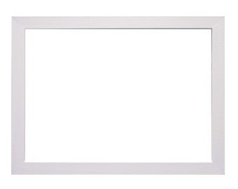 A4 White wooden frame