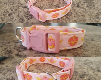 Sailor moon dog collar