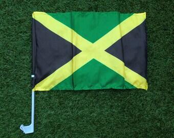 Jamaica Car Window Flag