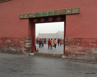 """007 - Photography: The Forbidden City - Beijing, China  - 20"""" x 30"""" (508 x 762mm)"""