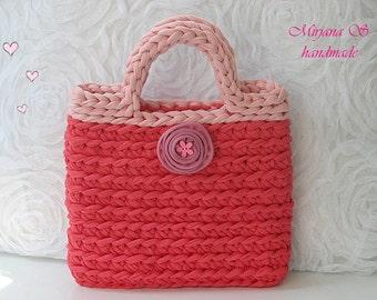 crochet little girl bag
